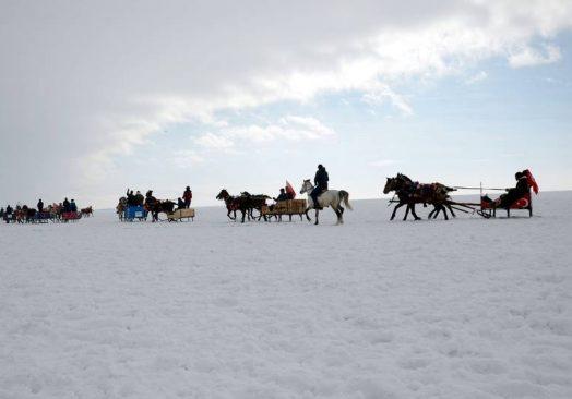 Uluslararası Çıldır Kristal Göl Atlı Kış Şöleni