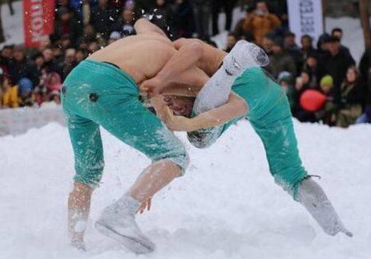 Şavşat Veliköy Kar Güreşleri Festivali