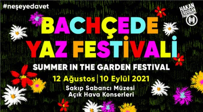 Bachçede Yaz Festivali