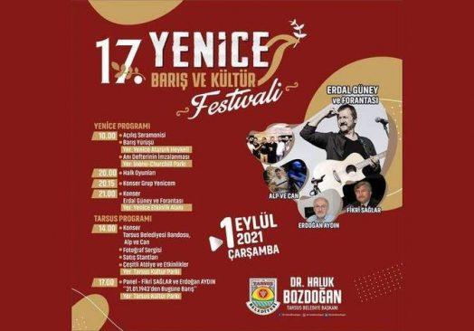 Yenice Barış ve Kültür Festivali